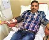 आर्मी ज्वाइन नहीं कर पाए तो भी कायम रहा देशभक्ति का जज्बा, मोहाली के महेश राणा ने रक्तदान से बचाई सैंकड़ों की जान