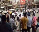 हिसार में लेफ्ट राइट सिस्टम से बाजार खोलने के पहले ही दिन विवाद, तनावपूर्ण बना माहौल