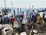सीतामढ़ी के सुप्पी में रसोई गैस सिलेंडर विस्फाेट, कई घर जलकर राख Sitamarhi News