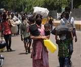 Lockdown 4: प्रवासियों का दर्द, मकान मालिक ने खदेड़ा, बड़ी मुश्किल से पहुंचे घर Gorakhpur News