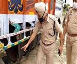 ट्रक के डीजल टैंक के साथ केबिन बना छिपा रखी थी नशे की खेप, चार तस्कर गिरफ्तार