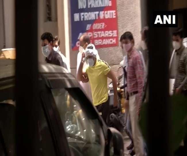 सुशील कुमार पेशी के लिए रोहिणी कोर्ट पहुंचा है