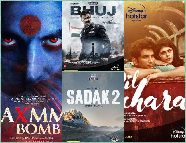 Disney Plus Hot Star पर फ़िल्मों का मेला, लक्ष्मी बम, भुज और दिल बेचारा समेत 4 महीनों में आएंगी ये 7 बड़ी फ़िल्में - दैनिक जागरण (Dainik Jagran)