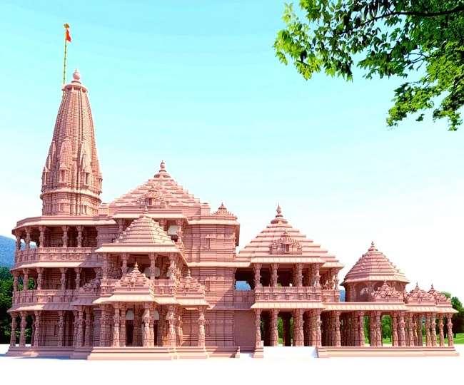 Ayodhya Ram Mandir 12 Test Pillars are ready for foundation work Nripendra  Mishra reached Ayodhya