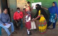 कैरो प्रखंड के विद्यालयों के बच्चों को मिला चावल