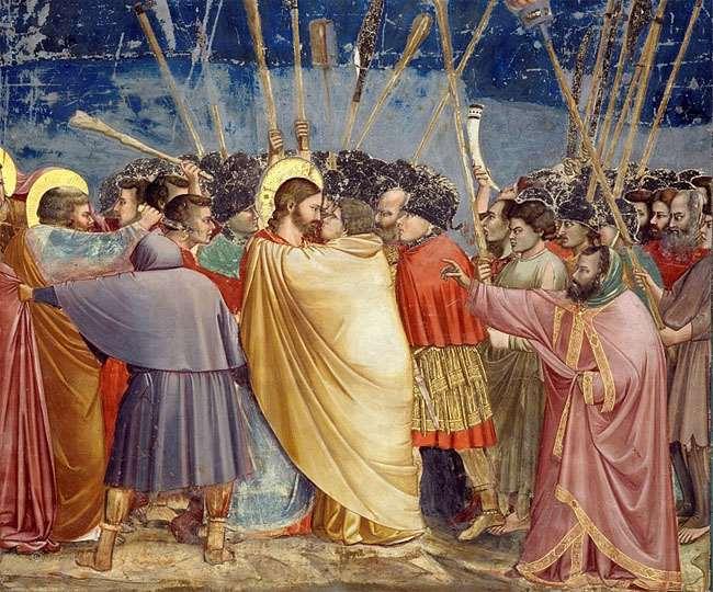 चंद सिक्कों के लिए जूडस ने यीशु को दिया था धोखा