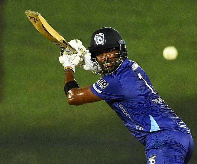 Thisara Perera becomes first Sri Lanka batsman to hit six sixes in an over