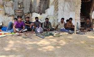 950 किमी चल पश्चिम बंगाल से जनपद पहुंचे 16 श्रमिक