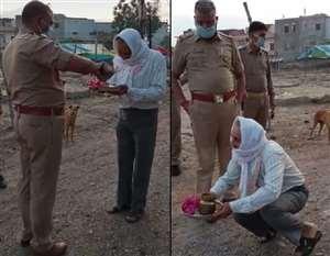 Video Viral होने के बाद हटाए गए पनकी थानाध्यक्ष, मंदिर जा रहे बुजुर्ग से की थी बदसलूकी