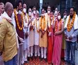 सांसद ने कहा-लाकडाउन में फंंसा होने कारण नहीं आ पाया गोरखपुर Gorakhpur News