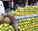 होलसेल के मुकाबले बाजार में दोगुने रेट पर बिक रही है मौसमी