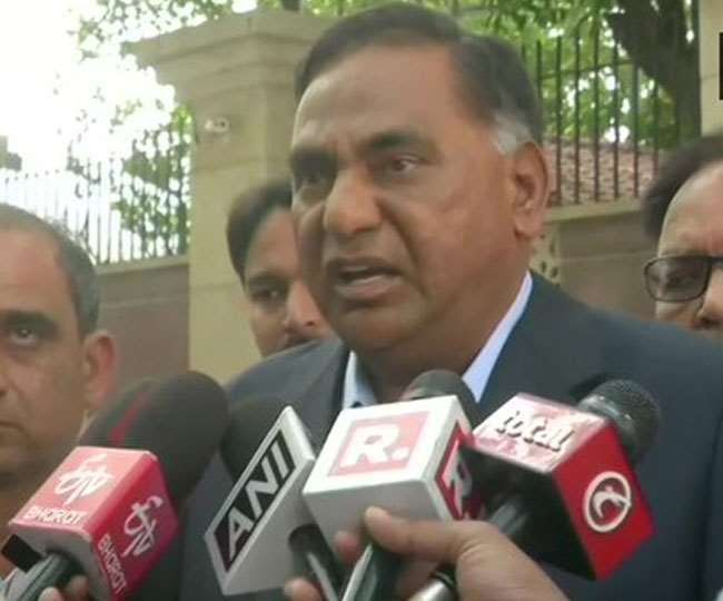 दिल्ली विधानसभा में नेता प्रतिपक्ष रामवीर सिंह बिधूड़ी।
