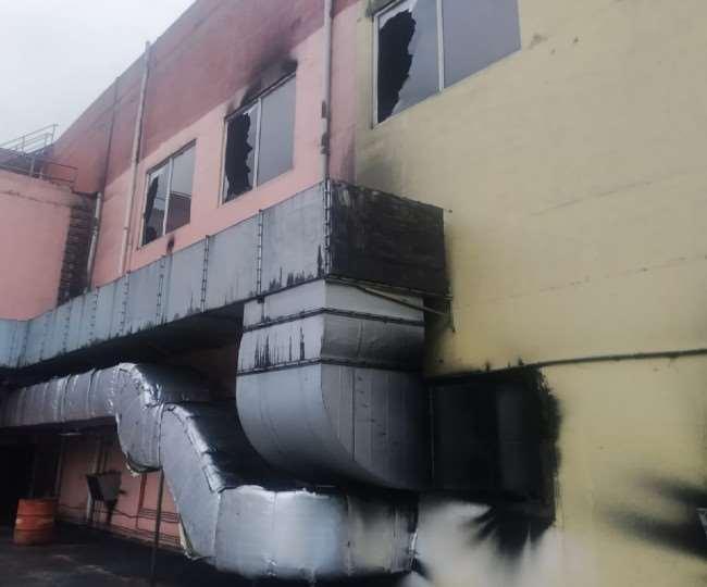 हिमाचल: एनएचपीसी के पावर हाउस में लगी आग, करोड़ों का नुकसान