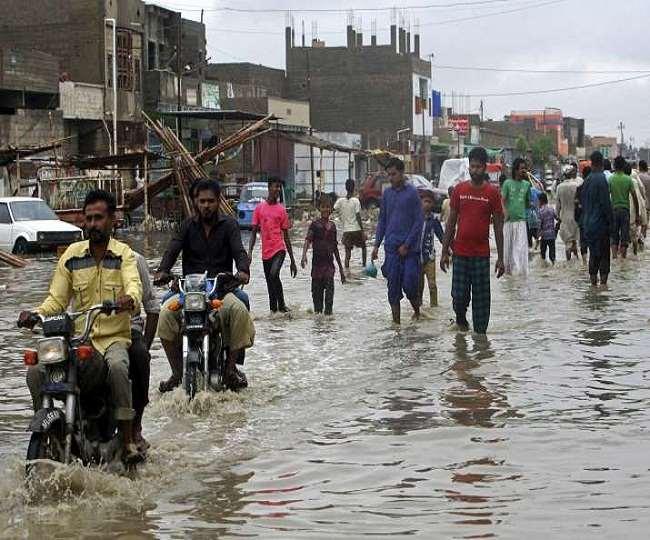 पाकिस्तान में बारिश का कहर, अब तक 134 लोगों की हुई मौत