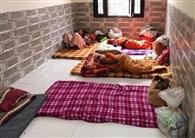 धर्मशालाओं में 810 प्रवासियों के ठहरने का प्रबंध