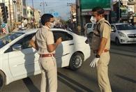 पुलिस कप्तान खुद सड़क पर, हर किसी को रोक कर पूछ रहे सड़क पर आने का कारण