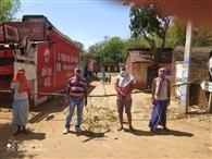 जरदाहा व काला डुमरिया के ग्रामीणों ने खुद को किया आइसोलेट