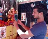 Coronavirus Lockdown : लाकडाउन में यहां वीडियो कालिंग से हो रहा है माता का दर्शन Gorakhpur News