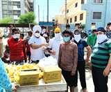 Panipat Lockdown: CoronaVirus के खिलाफ जंग, जरूरतमंदों के लिए मैदान में उतरे दानवीर