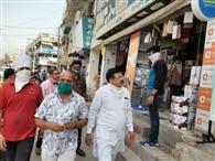 व्यापारियों ने प्रशासन को चुनौती देकर पूरा बाजार खोला, निगम अब पुलिस का लेगा सहयोग