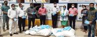 सुरक्षा कवच अभियान सखा के तहत अस्पताल को सौंपे 20 हजार मास्क