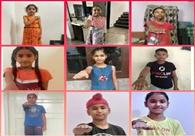 राजेंद्रा स्कूल ने एंटी तंबाकू दिवस ऑनलाइन मनाया