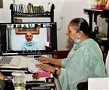 यूपी की राज्यपाल आनंदीबेन पटेल ने कहा- महिला श्रम का उपयोग कर देश को आत्मनिर्भर बनाएं उद्यमी