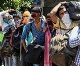 West Bengal : प्रवासी श्रमिकों व अन्य व्यक्तियों को लेकर छह श्रमिक स्पेशल ट्रेनें पहुंची हावड़ा