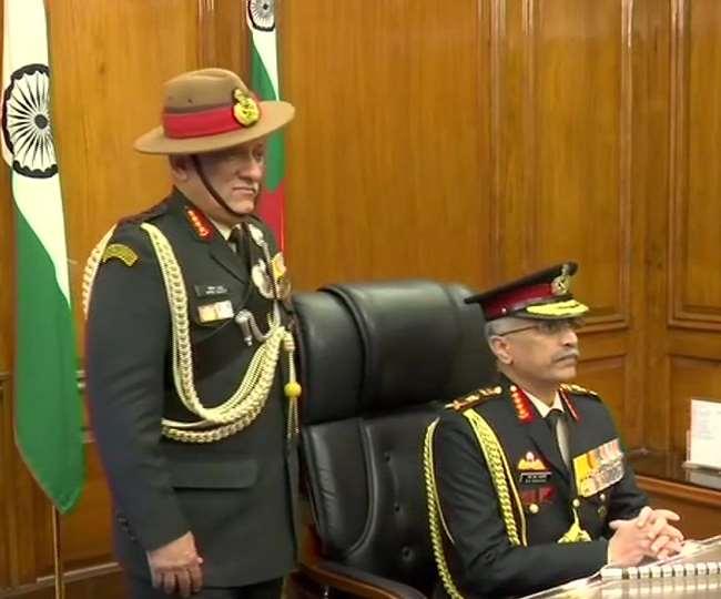 देश के नए सेना प्रमुख बने जनरल मुकुंद नरवाणे, कल से CDS की जिम्मेदारी संभालेंगे जनरल रावत