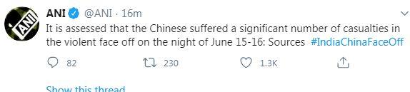 India-China Border: हिंसक झड़प में चीन का 1कमांडिंगऑफिसर ढेर