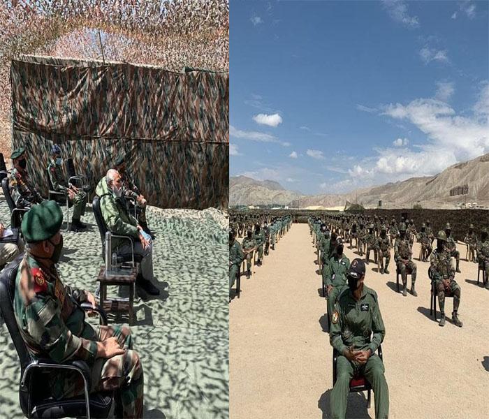 pm modi in leh ladakh