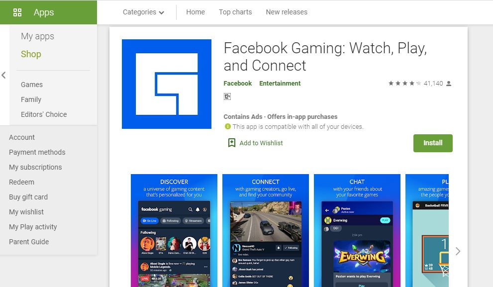 Facebook launches Gaming app in India, will be able to enjoy online live gaming