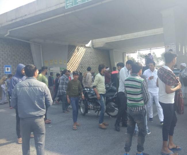 Live Farmers Protest Kaithal