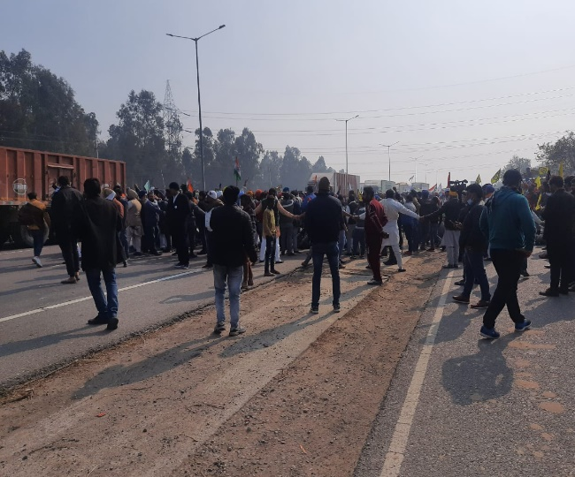 Live Farmers Protest Karnal