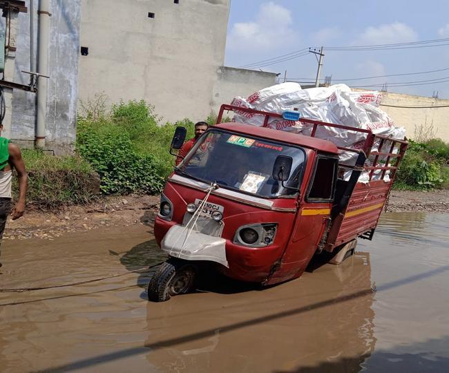 kanganwal road ludhiana news