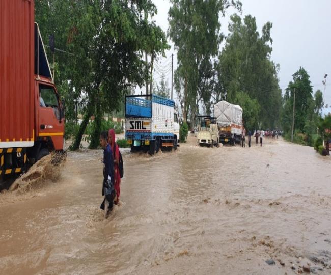 monsoon floods Haryana