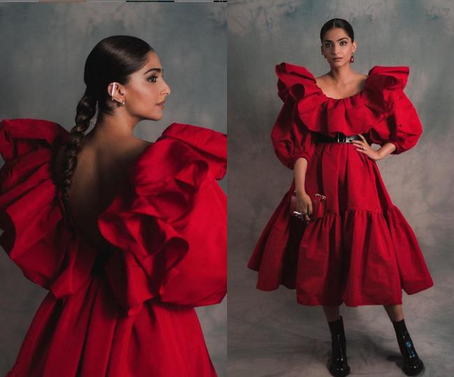 Sonam Kapoor ने बैकलेस ड्रेस में दिखाया सीज़लिंग अवतार, फोटोज देख आप भी रह जाएंगे दंग