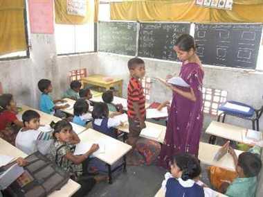 हिन्दी भी नहीं पढ़ सके 5वीं के छात्र