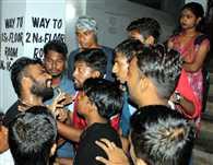 जमशेदपुर वर्कर्स कॉलेज में बवाल