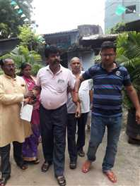 भाजपा नेता के साथ मारपीट