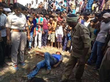 पटना : पब्लिक ने बदमाशों को मार डाला