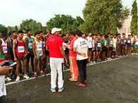 आरयू ने कराई क्रॉस कंट्री रेस प्रतियोगिता