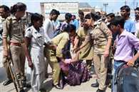 संजय नगर के जलभराव ने एक दूसरे को बना दिया विरोधी