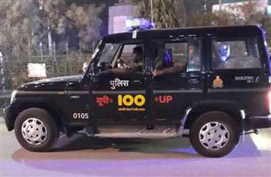 दिवाली पर यूपी 100 ने जलाए सुरक्षा के पचास हजार दीप