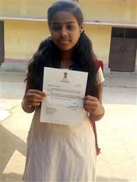 पीएम मोदी ने पोटका की छात्रा को लिखा लेटर