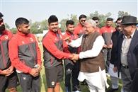 रणजी ट्रॉफी मैच का शुभारंभ आज से