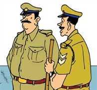 चोरी रोकने के लिए लगाई पुलिस पिकेट