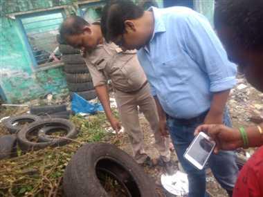 हिंदपीढ़ी में युद्धस्तर पर साफ-सफाई शुरू