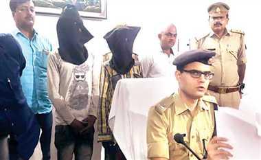 15 पुलिस कर्मचारियों ने पकड़ा बाइक चोर