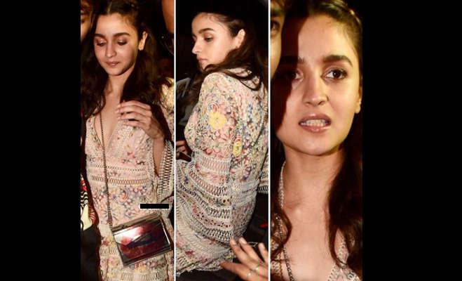 तस्वीरें : प्रियंका के बाद आलिया पर भी लगा कॉपी कैट का ठप्पा,ड्रेस के साथ-साथ इस एक्ट्रेस की स्टाइल भी की कॉपी